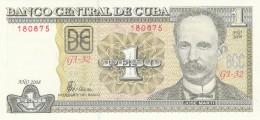 CUBA 1 PESO -UNC - Cuba