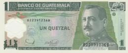GUATEMALA 1 QUENTZAL -UNC - Guatemala