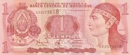 HONDURAS 1 LEMPIRA -UNC - Honduras