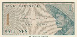 INDONESIA 1 SEN -UNC - Indonésie