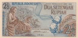 INDONESIA 2,5 RUPIAH -UNC - Indonésie