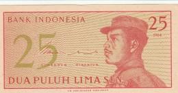 INDONESIA 25 SEN -UNC - Indonésie
