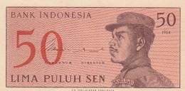 INDONESIA 50 SEN -UNC - Indonesia