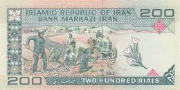 IRAN 200 RIALS -UNC - Iran