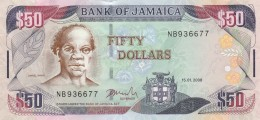 JAMAICA 50 DOLLARS -UNC - Jamaica