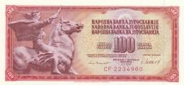 JUGOSLAVIA 100 DINARA (3) -UNC - Jugoslavia
