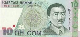 KIRGHIZISTAN 10 SOM -UNC - Kirghizistan