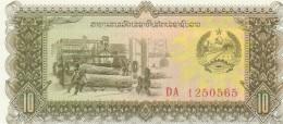 LAOS 10 KIP -UNC - Laos