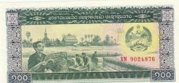 LAOS 100 KIP -UNC - Laos