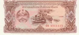 LAOS 20 KIP -UNC - Laos