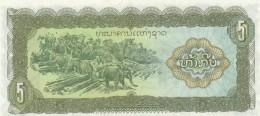 LAOS 5 KIP -UNC - Laos