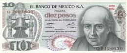MESSICO 10 PESOS -UNC - Mexique
