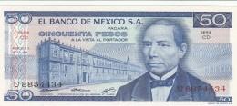 MESSICO 50 PESOS -UNC - Messico