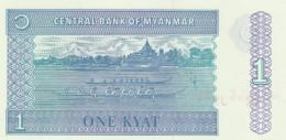 MYANMAR 1 KYATS -UNC - Myanmar