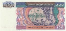MYANMAR 100 KYATS -UNC - Myanmar