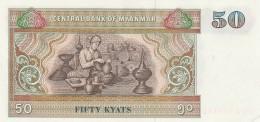 MYANMAR 50 KYATS -UNC - Myanmar