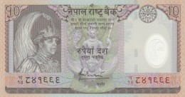 NEPAL 10 RUPEES (2) -UNC - Nepal