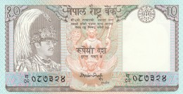 NEPAL 10 RUPEES -UNC - Nepal