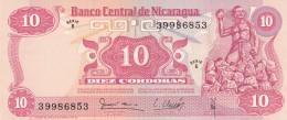 NICARAGUA 10 CORDOBAS (3) -UNC - Nicaragua