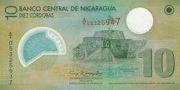 NICARAGUA 10 CORDOBAS -UNC - Nicaragua
