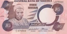NIGERIA 5 NAIRA (2) -UNC - Nigeria