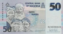 NIGERIA 50 NAIRA -UNC - Nigeria