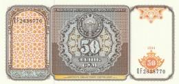 UZBEKISTAN 50 SOM -UNC - Uzbekistán