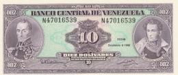 VENEZUELA 10 BOLIVARES -UNC - Venezuela