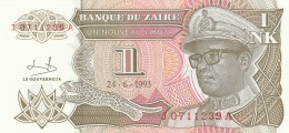 ZAIRE 1 LIKUTA -UNC - Zaire