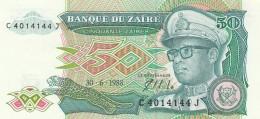 ZAIRE 50 ZAIRES -UNC - Zaire