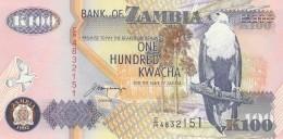 ZAMBIA 100 KWACHA -UNC - Zambia