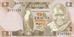 ZAMBIA 2 KWACHA -UNC - Zambia
