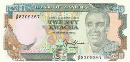 ZAMBIA 20 KWACHA (3) -UNC - Zambia
