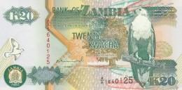 ZAMBIA 20 KWACHA -UNC - Zambia