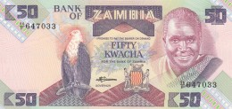 ZAMBIA 50 KWACHA (2) -UNC - Zambia