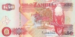 ZAMBIA 50 KWACHA -UNC - Zambia