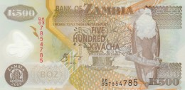 ZAMBIA 500 KWACHA -UNC - Zambia