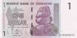 ZIMBAWE 1 DOLLARS -UNC - Zimbabwe