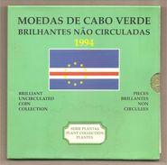 Capo Verde - Annata 1994 Fondo Specchio In Cofanetto - Cape Verde