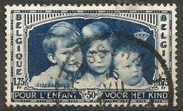 Belgium - 1935 Royal Children 1.75f+50c Used    SG 682  Sc B165 - Belgium