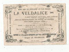Buvard , LA VELDALICE , Lotion Végétale , Oudet , Pharmacien à DOLE , Jura , Frais Fr : 1.45 E - Drogheria
