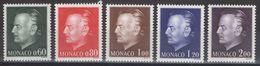 Monaco - YT 992-996 ** - 1974 - Unused Stamps