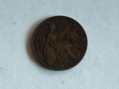UK 1 FARTHING 1825 ONE GRANDE BRETAGNE - B. 1 Farthing