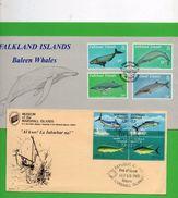 2 Plis (Thème Faune ° Falkland Islands ) - Timbres