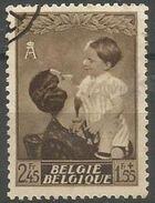 Belgium - 1937 Queen Astrid & Prince 2.45f+1.55f Used    SG 794  Sc B196 - Belgium
