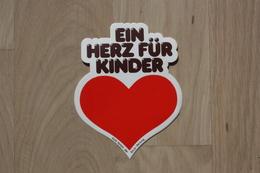 Ein Herz Für Kinder Aufkleber - Original Aus 1980er (BILD-Zeitung) - Aufkleber
