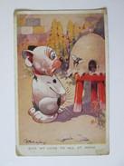 Bonzo Dog Used Postcard 1929 - United Kingdom