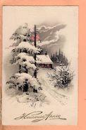Cpa Carte Postale Ancienne - Bonne Annee Illustrateur - Año Nuevo