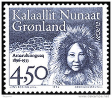 Groenlandia 274 ** Europa. 1996 - Unused Stamps