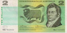 AUSTRALIA BANKNOTE 2 DOLLARS-VERY FINE(K) - Australia